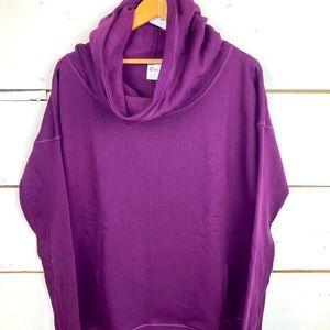 Zyia Oh so soft plum hoodie XL